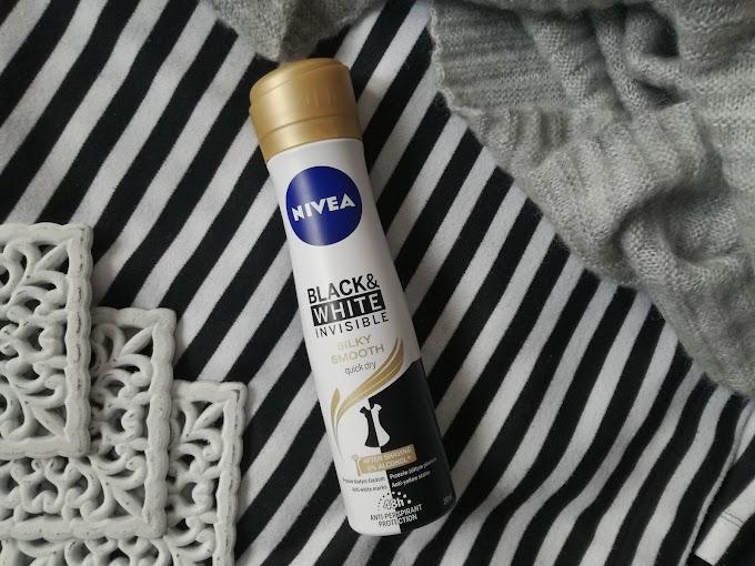 NIVEA | Antyperspirant Black&White Invisible Silky Smooth