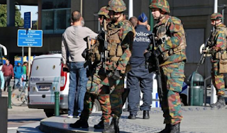 Brussels Police Stabbed In 'Terror Attack'