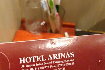 Pengalaman Menginap Seru dan Lucu di Hotel Arinas Lampung