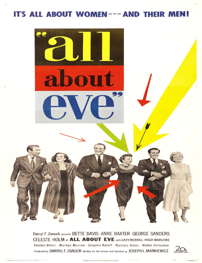 Ver Eva al desnudo (All About Eve) (1950) Online