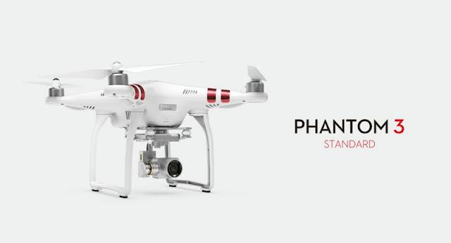 квадрокоптер радіокерований DJI Phantom 3 Standard