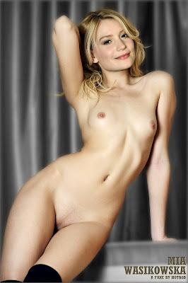 Hotrod Wasikowska Mia Wasikowska Nude Possing her BOobs & Pussy Fake