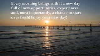 Motivational Good morning image status