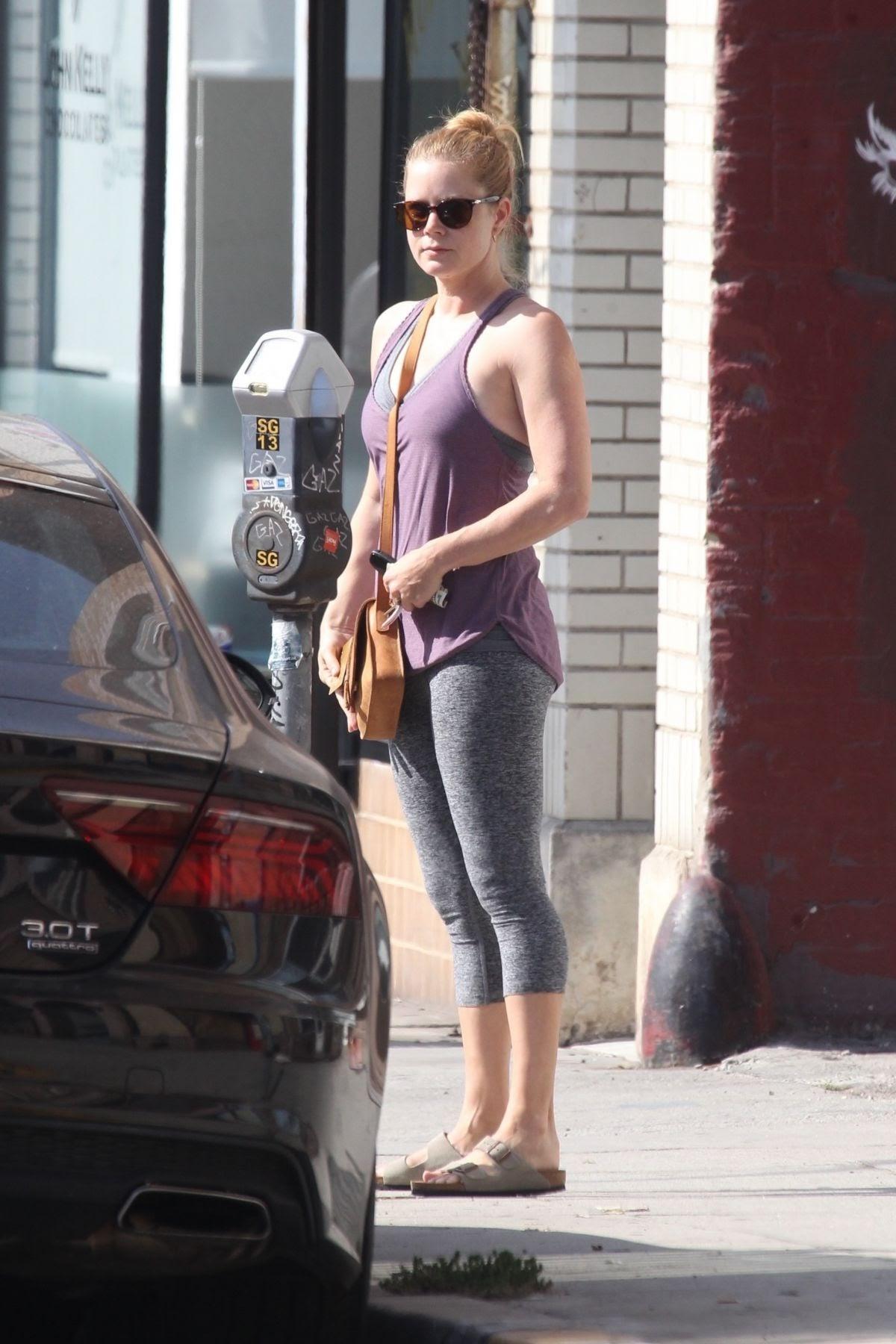 Amy Adams in Hollywood: Pilates Princess Amy Adams