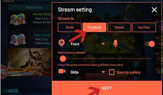Cara Live Streaming Game Di Facebook Lewat Hp dan PC Terbaru
