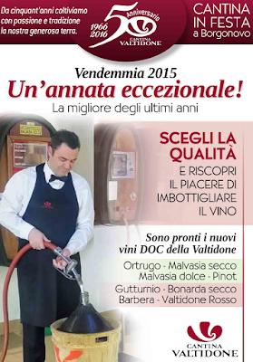 Cantina Valtidone è iniziata la vendita del vino