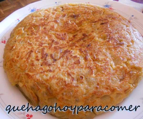 Tortilla Española (Tortilla de patata con cebolla)
