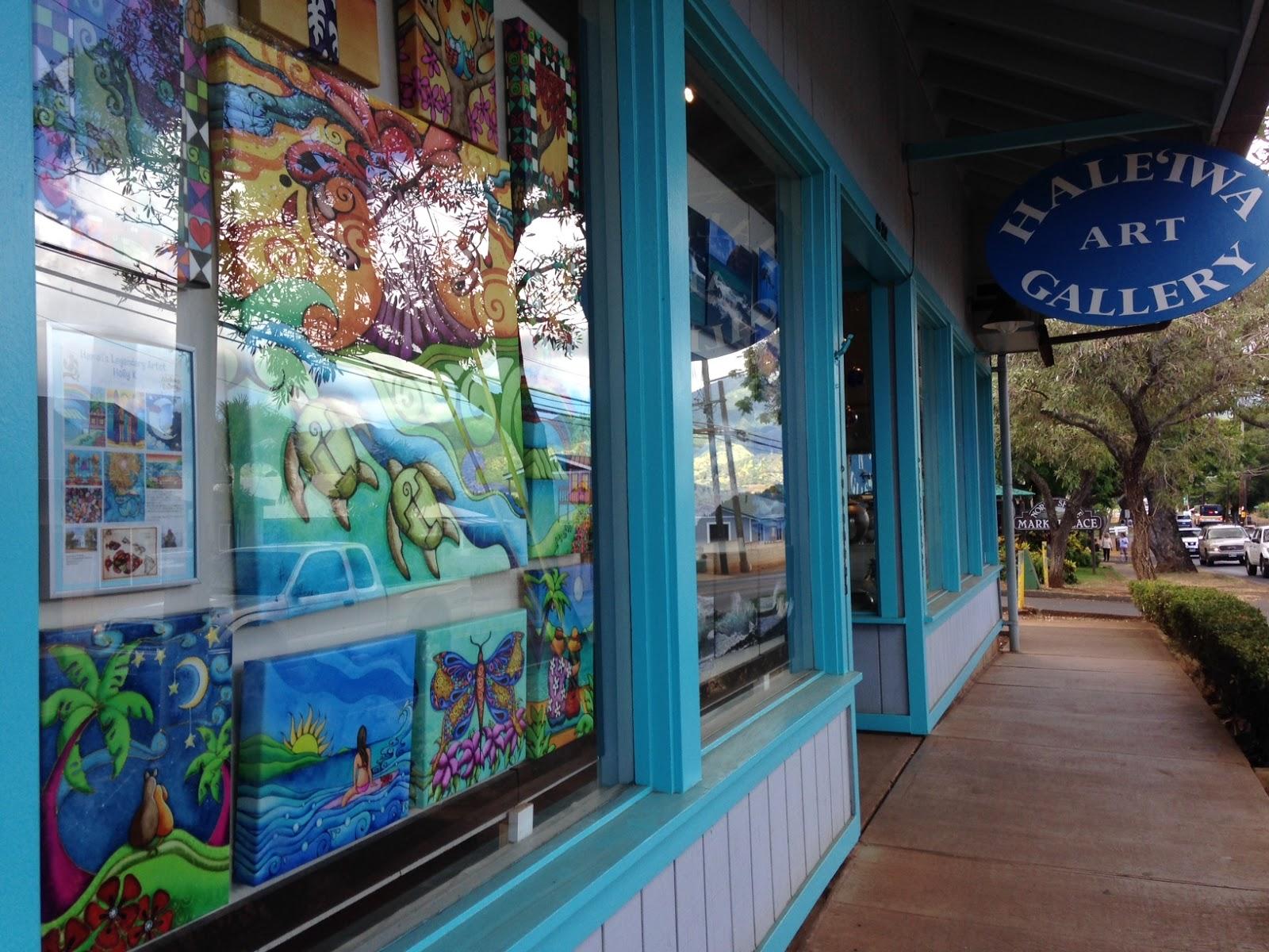 Holly Kitaura Art Haleiwa Art Gallery on the North Shore