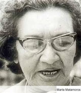 Tributo a Marta Matamoros (Con motivo del 107 aniversario de su Natalicio)