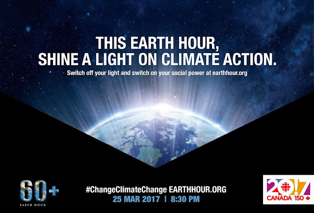 Earth Hour is just under a month away!
