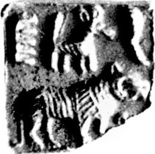 Image result for mohenjodaro seal onager