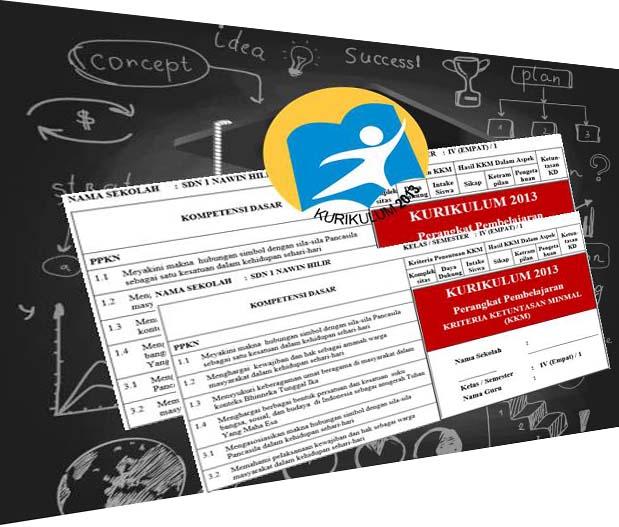 Unduh KKM, Prota dan Promes Kurikulum 2013 Revisi Kelas 4 Sekolah Dasar