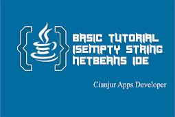 Mengenal Fungsi isEmpty String dalam Java
