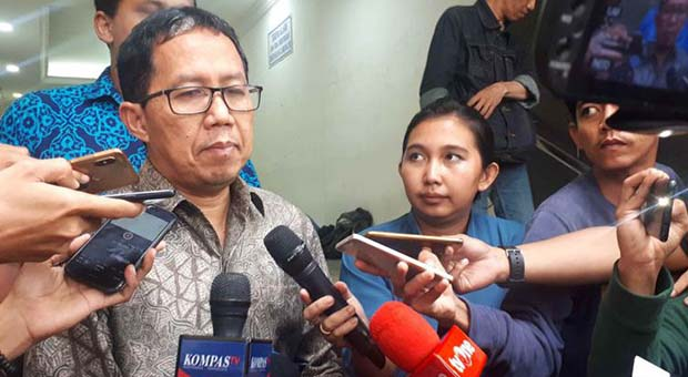 Plt Ketua Umum PSSI Joko Driyono Ditahan