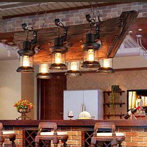 Chiêm ngưỡng những mẫu đèn thả quán café thiết kế độc đáo, ấn tượng