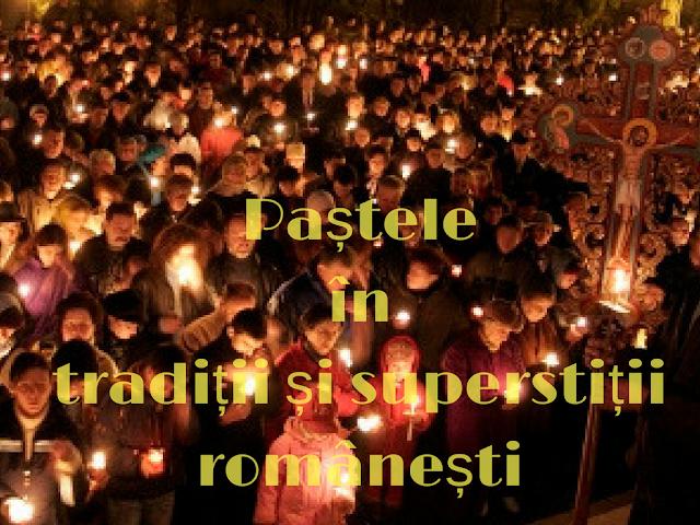 traditii romanesti de Paste