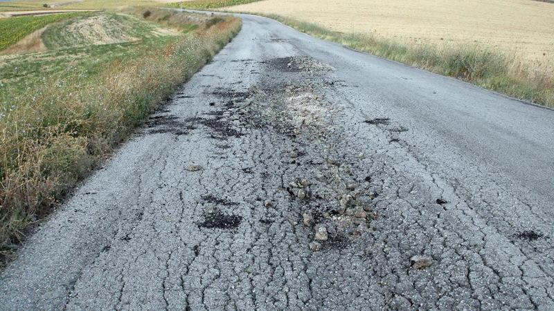Σε κακή κατάσταση το οδικό δίκτυο στο Βόρειο Έβρο
