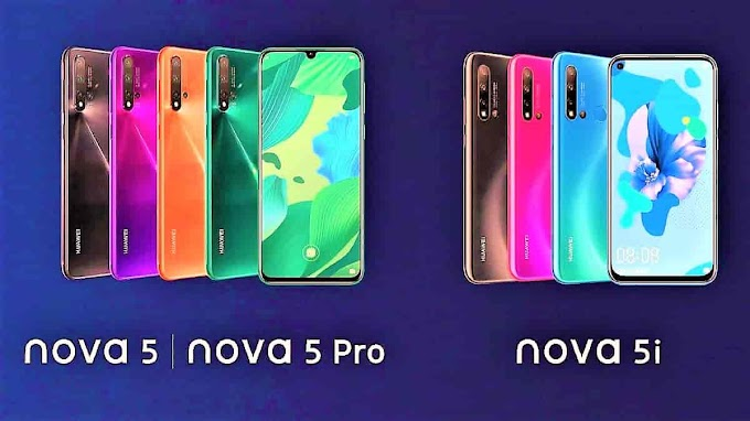 Huawei Nova 5 Pro, 5i, and 5 are launched