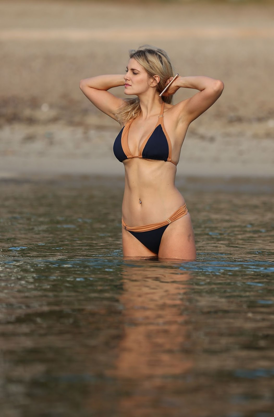 Ashley James in Bikini 2016
