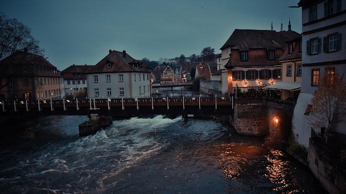 Wallpaper: Bamberg town in Bavaria, Germany