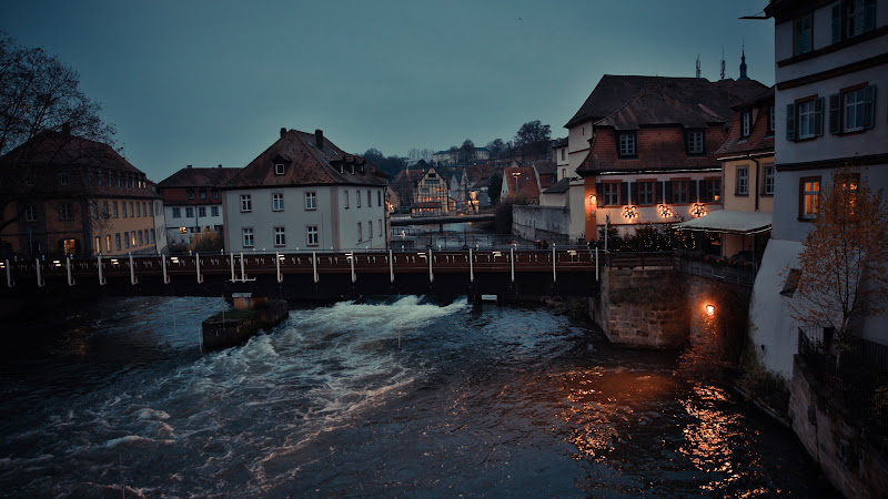 Bamberg town in Bavaria, Germany HD