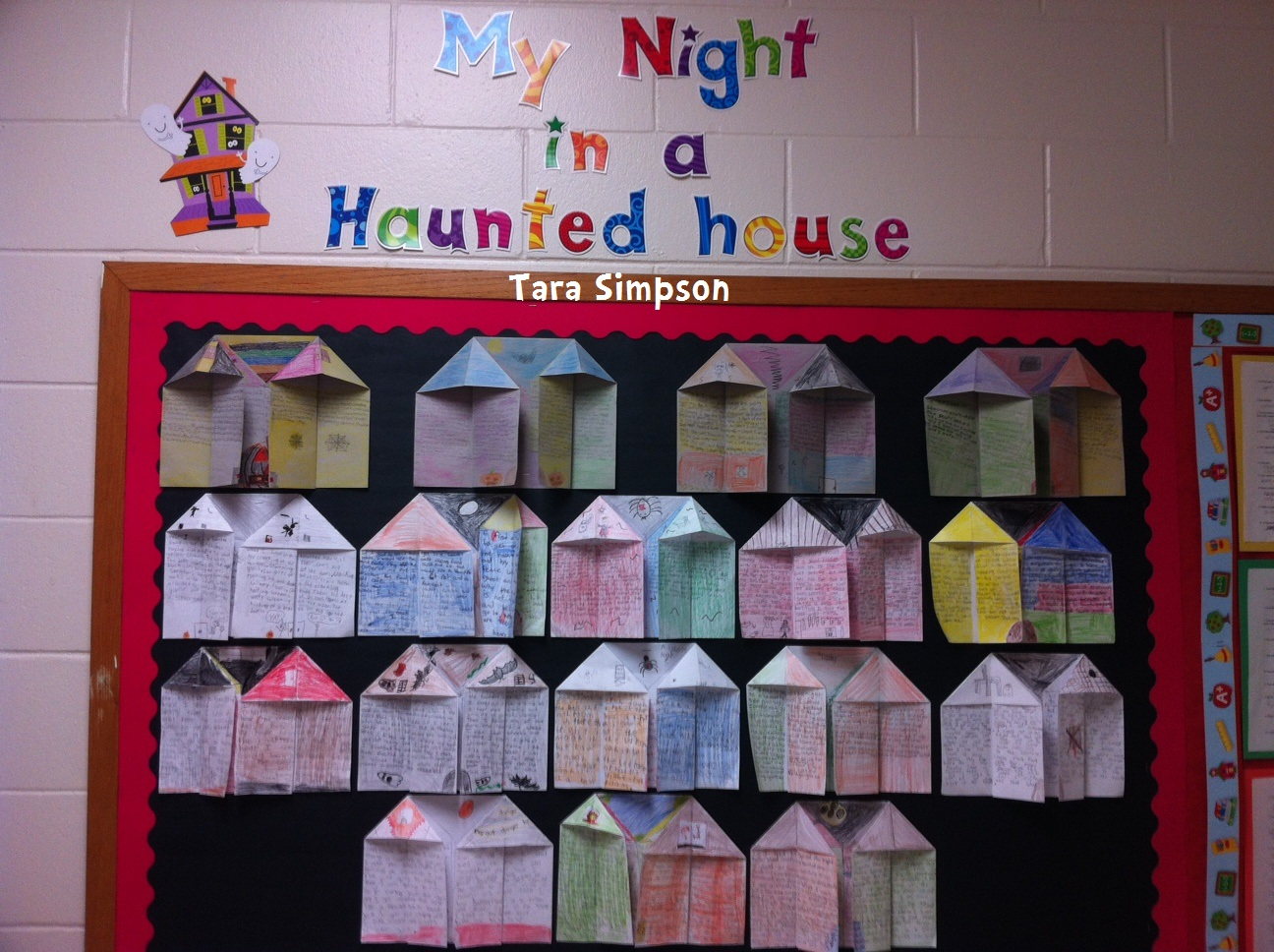 Tara Teaches My Night In A Haunted House