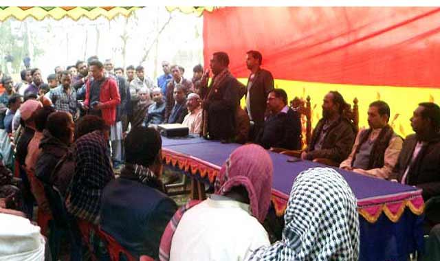 বকশীগঞ্জের সাধুরপাড়ায় নৌকার জনসভা অনুষ্ঠিত