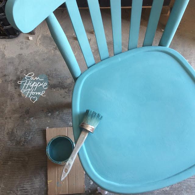 Sillas de madera de colores - Muebles de Can Hippie Home-1