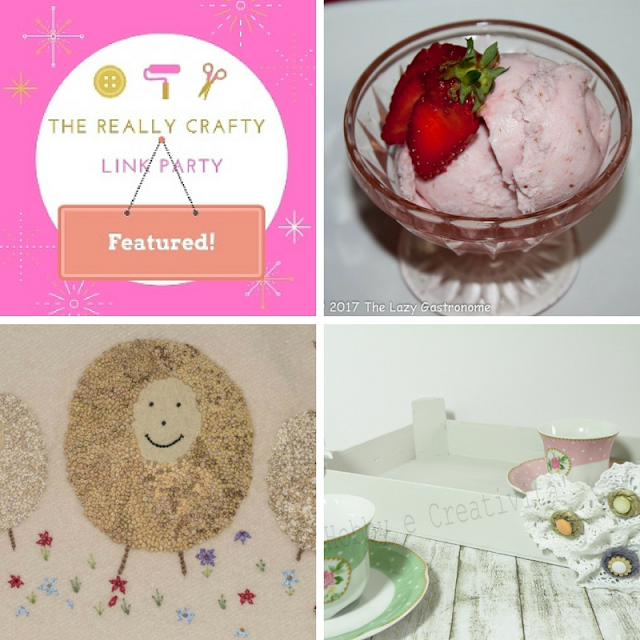 The Really Crafty Link Party #75 featured posts!
