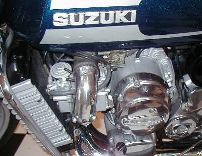 suzuki RE5 mesin rotari