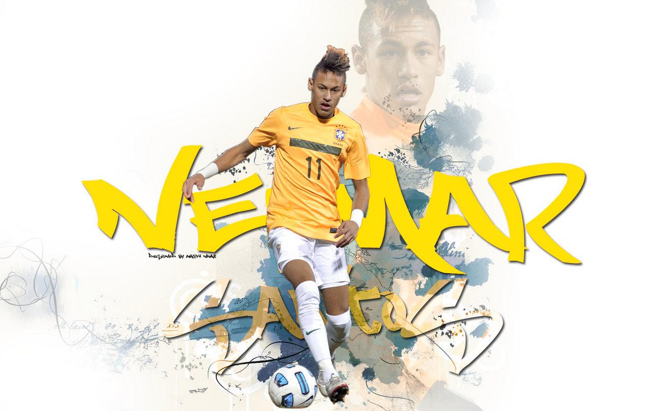 Football Stars Neymar New 2012 Wallpapers