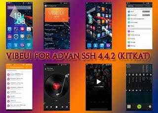 Custom RomVibeUI For Advan S5H 4.4.2 (KITKAT)