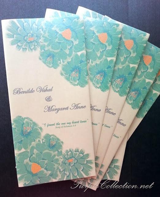 green flower, floral, wedding card, petaling jaya, malaysia, kuala lumpur, the catholic church of St. Francis Xavier, Western, Christian