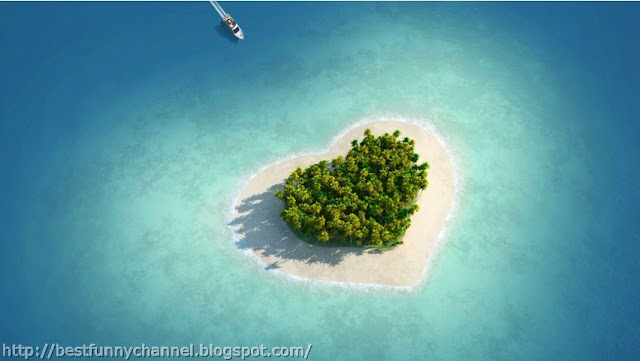 The small island of the heart