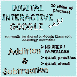 https://www.teacherspayteachers.com/Product/Digital-Addition-and-Subtraction-Practice-3756022
