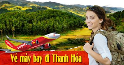 Đặt mua vé máy bay đi Thanh Hóa giá rẻ
