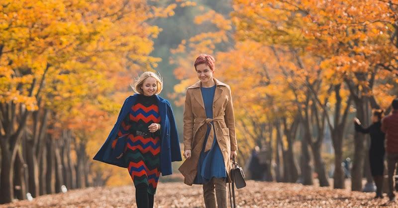 70s Autumn. Knit dress - My Blonde Gal