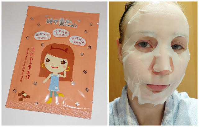 Face Q - Almond and Shea Butter Mask