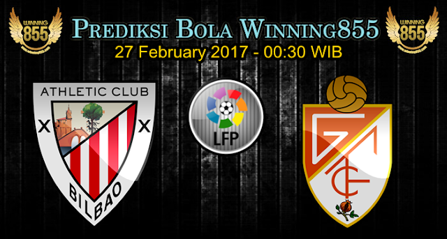 Prediksi Skor Athletic Bilbao vs Granada 27 February 2017