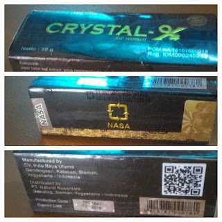 Gambar Crystal X Nasa