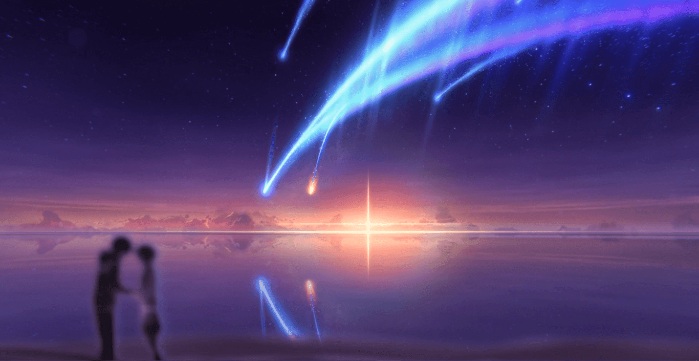 Your Name Tiamat Comet 1080p 60fps Wallpaper Engine Anime