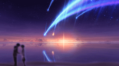 Your Name - Tiamat Comet (1080p 60fps) [Wallpaper Engine Anime]