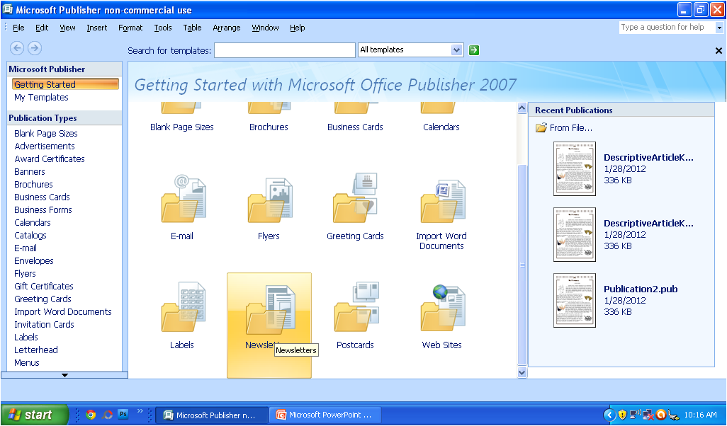 Tutorial Ms Publisher For Magazine Using