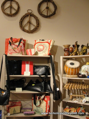 One World Fair Trade shop in Healdsburg, California