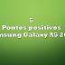 5 pontos positivos - Samsung Galaxy A5 2016