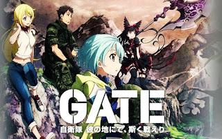 Download Gate: Jieitai Kanochi nite, Kaku Tatakaeri Episode 01-24 [END] Batch Subtitle Indonesia