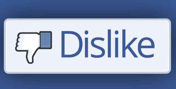 Dislike button on facebook
