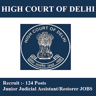High Court of Delhi, New Delhi, Delhi High Court, Delhi, Judicial Assistant, Graduation, freejobalert, Sarkari Naukri, Latest Jobs, delhi high court logo