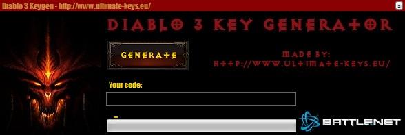 Diablo 3 battle.net keygen v1.3 ~ Ultimate Game Keygens, Hacks & Cracks!