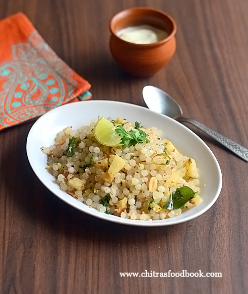 How to make non sticky sabudana khichdi